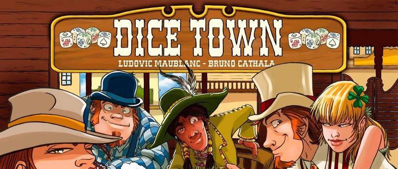 Capa do Jogo com o logo e personagens de Velho oeste em volta de uma mesa em cartoon
