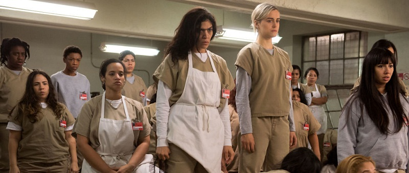 Capa do post, com cena de Orange is the new black