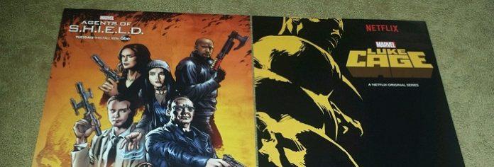 posters de agents of shield e luke