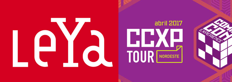 leya ccxp tour nordeste