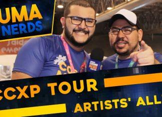 Artists' Alley ccxp tour 2017