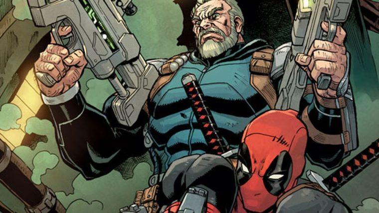 Deadpool e cable hq