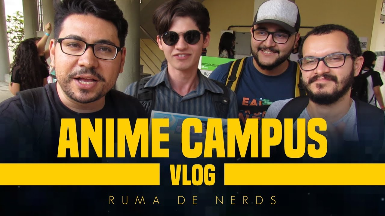 cosmonerd no anime campus evento