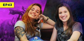 lyla e alice na capa do video sobre game of thrones