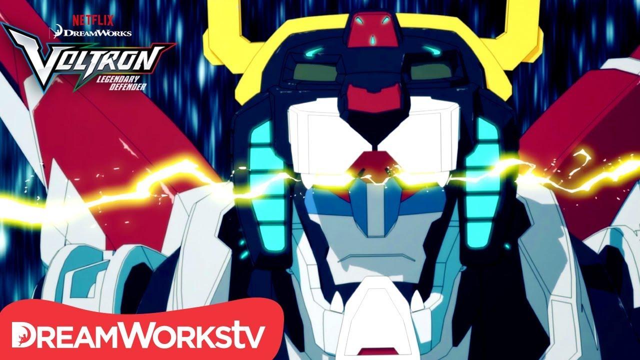 capa do video de Voltron: O Defensor Lendário