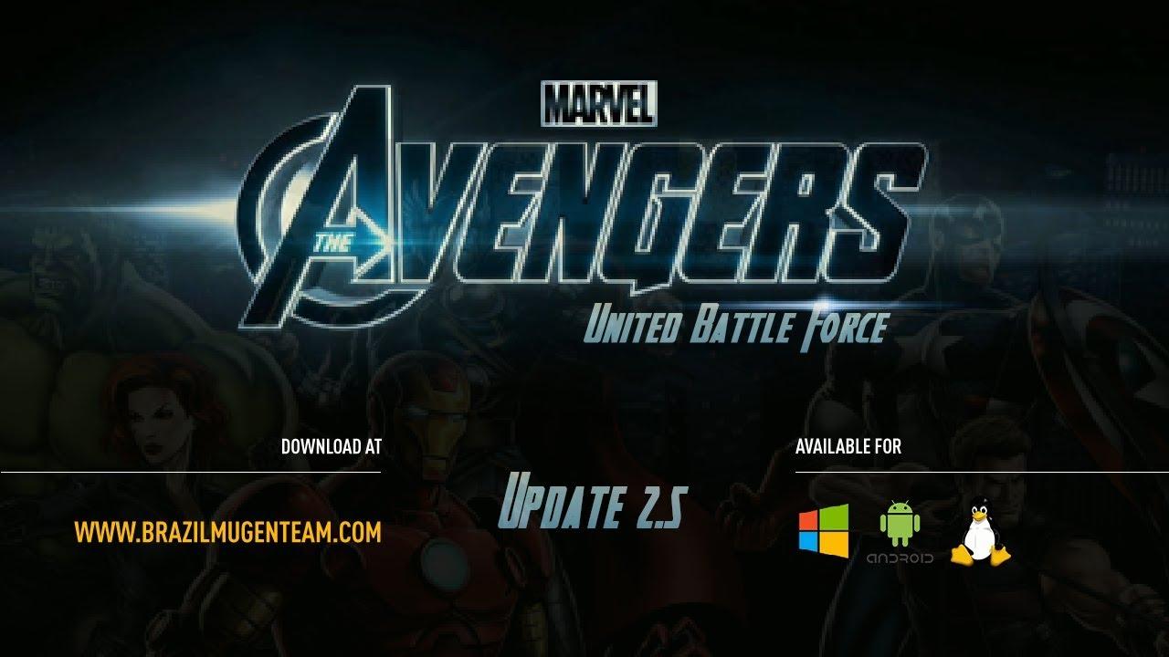Avengers: United Battle Force jogo vingadores