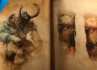 cena do video de god of war ps4