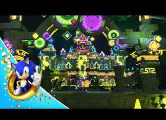 cena do pinball em sonic forces