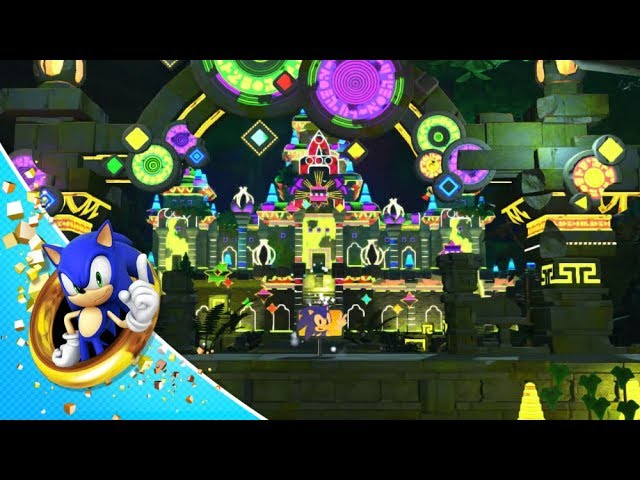 cena do pinball em sonic forces