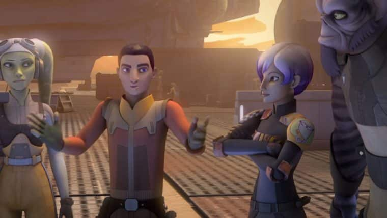 cena de star wars rebels