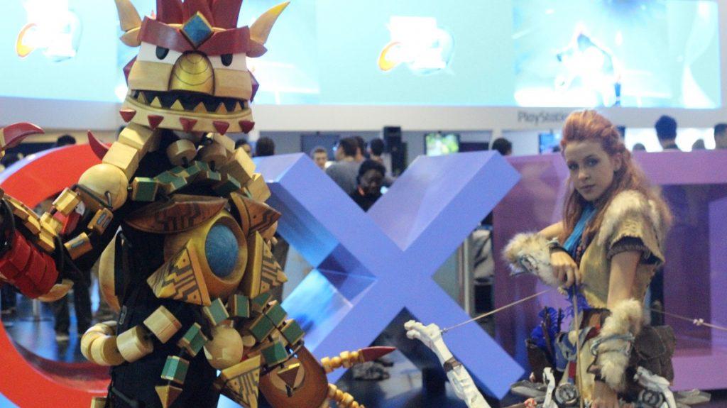 cosplay de horizon na bgs Brasil Game Show