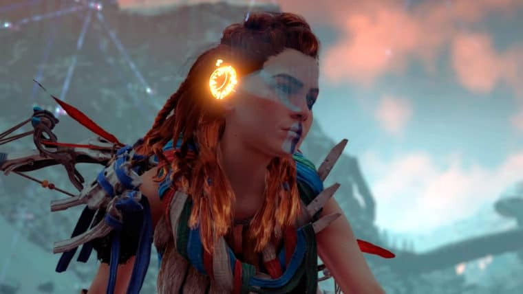 cena de Horizon Zero Dawn
