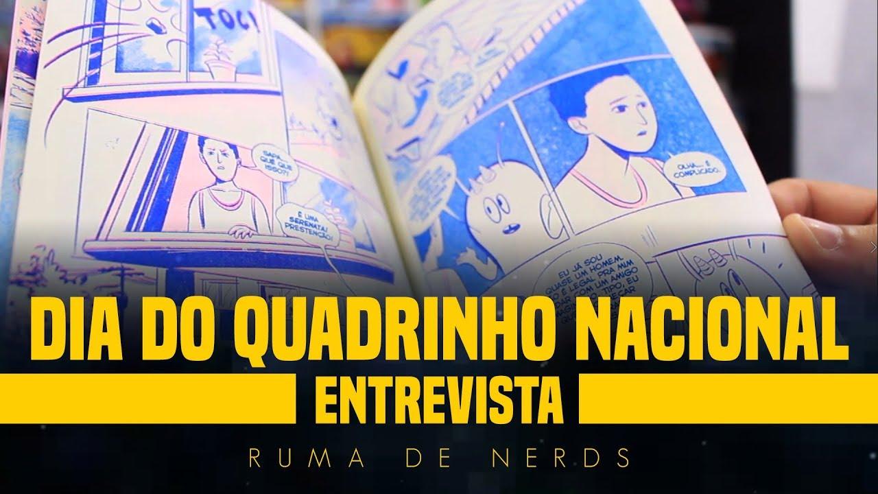 capa do programa do dia do quadrinho nacional