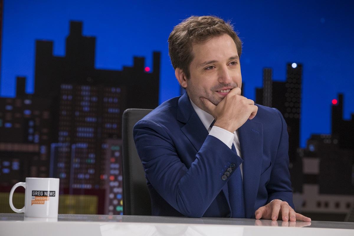 Gregorio Duvivier em foto da série Greg News da HBO