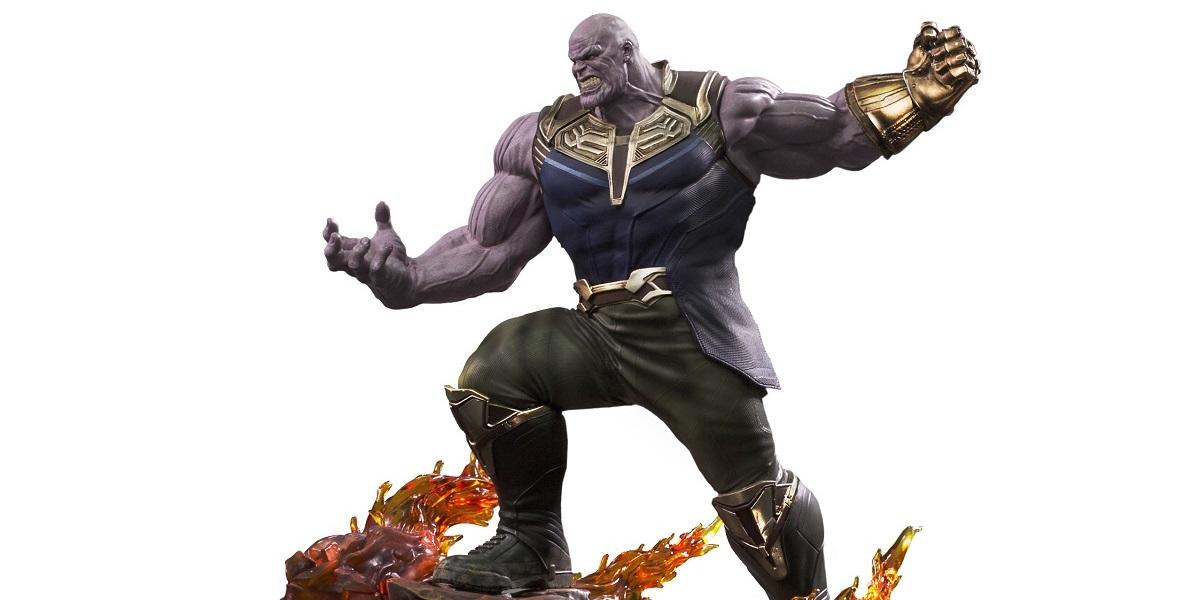 capa Iron Studios Thanos Vingadores Guerra Infinita 4 - Cópia