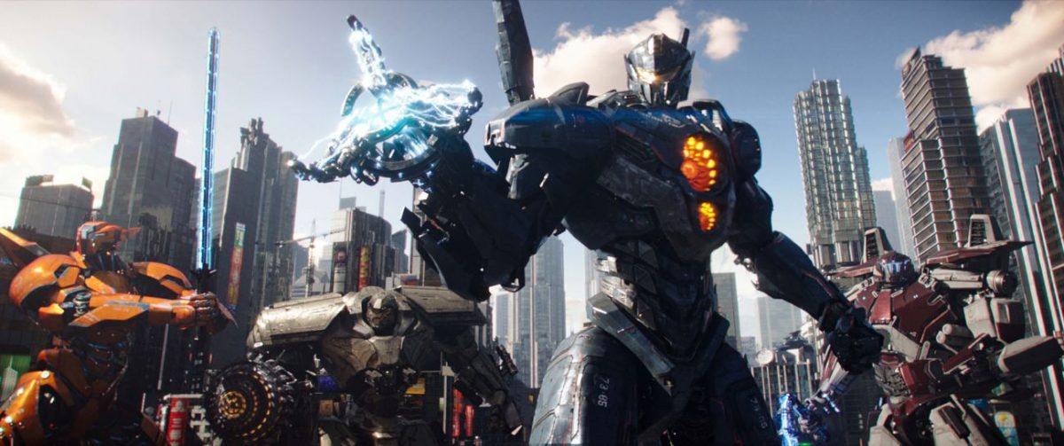 capa da postagem com os Jaegers de Círculo de Fogo A Revolta