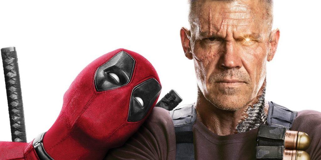 Wade Wilson e Cable em poster de Deadpool 2