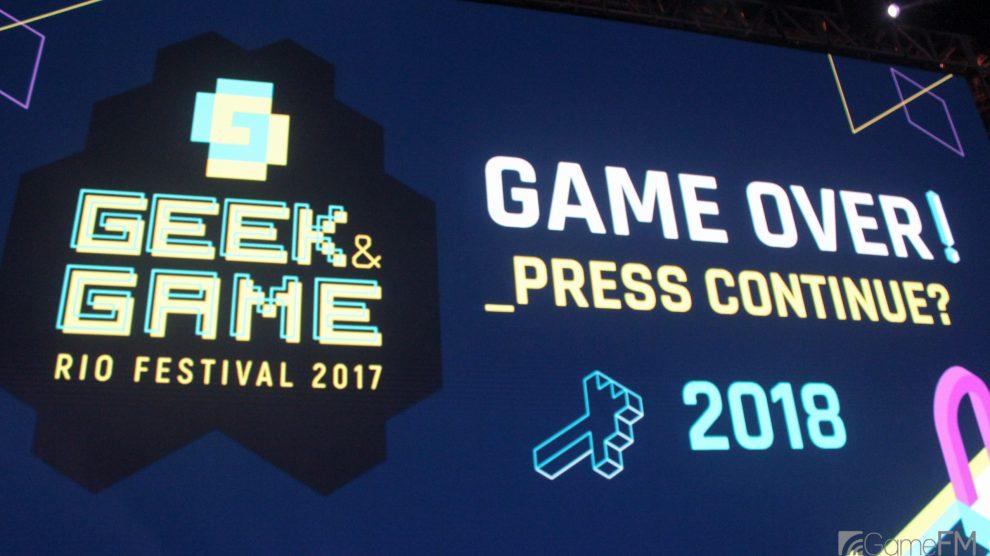 Geek & Game Rio Festival 2018