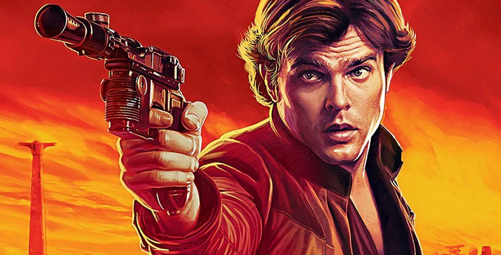 poster do filme do Han Solo uma história star wars lucasfilm