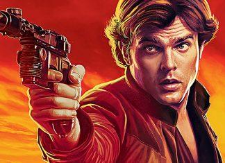 poster do filme do Han Solo uma história star wars