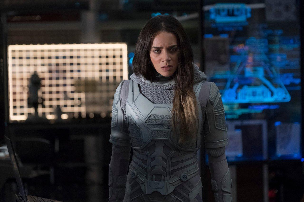homem-formiga e a vespa atriz que vive Ghost quer estar em Thunderbolts