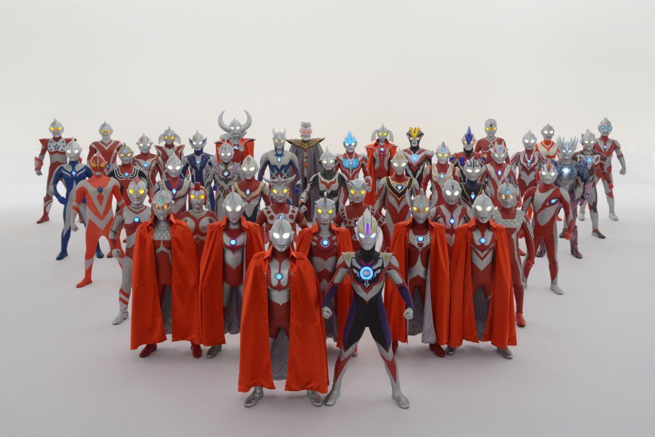 ultraman anime friends