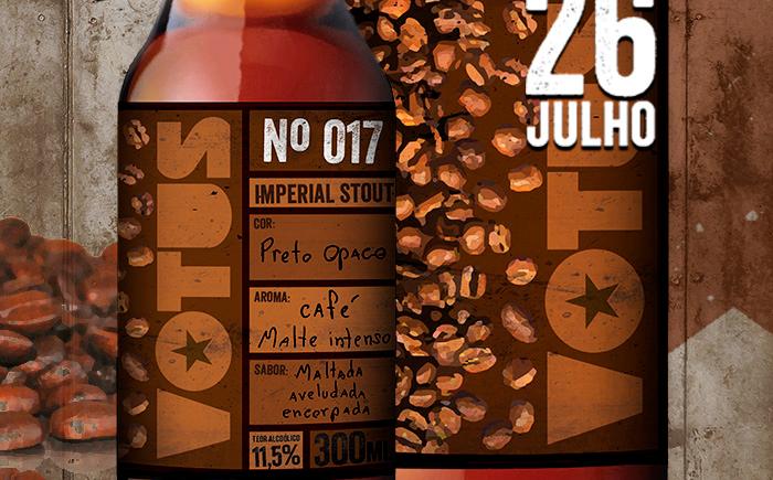 Cervejaria Votus N 017 Russian Imperial Coffee Stout - Copia