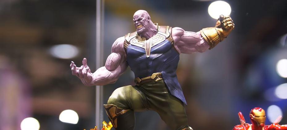 Thanos iron studios action figure estatueta