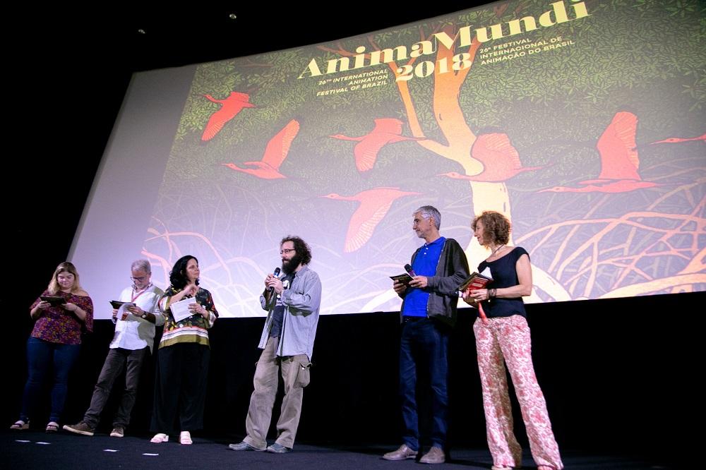 Maratona Animada - anúncio dos vencedores no Anima Mundi. @Fabiano Veneza