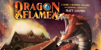 dragon flame boardgame