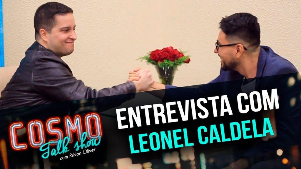 leonel caldela e rildon oliver na capa do cosmo talk show