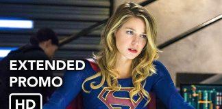 capa do trailer da 4a temporada de Supergirl