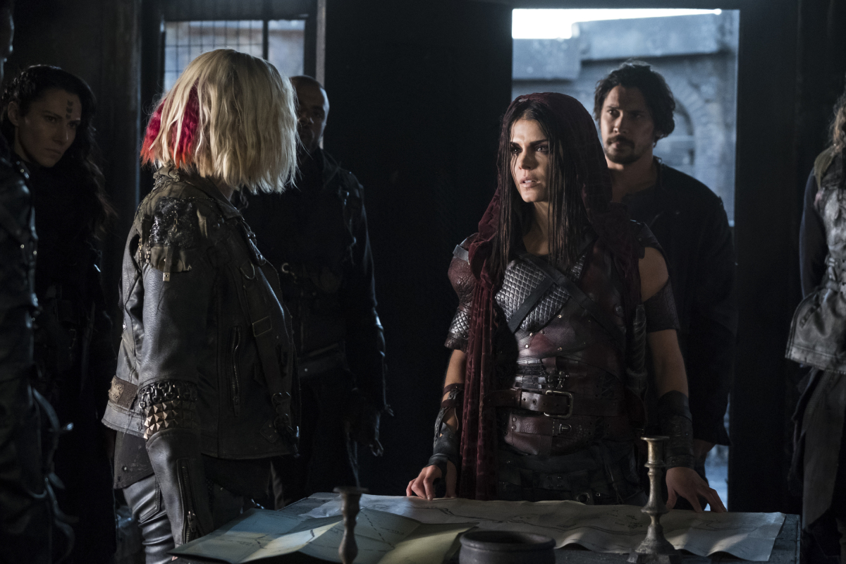 the 100 5 temporada ep 5 Shifting Sands