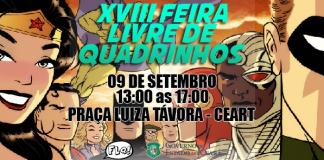 feira livre de quadrinhos fortaleza