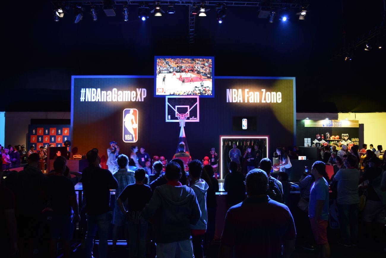 Game XP | NBA Fan Zone é uma das principais atrações da Inova Arena