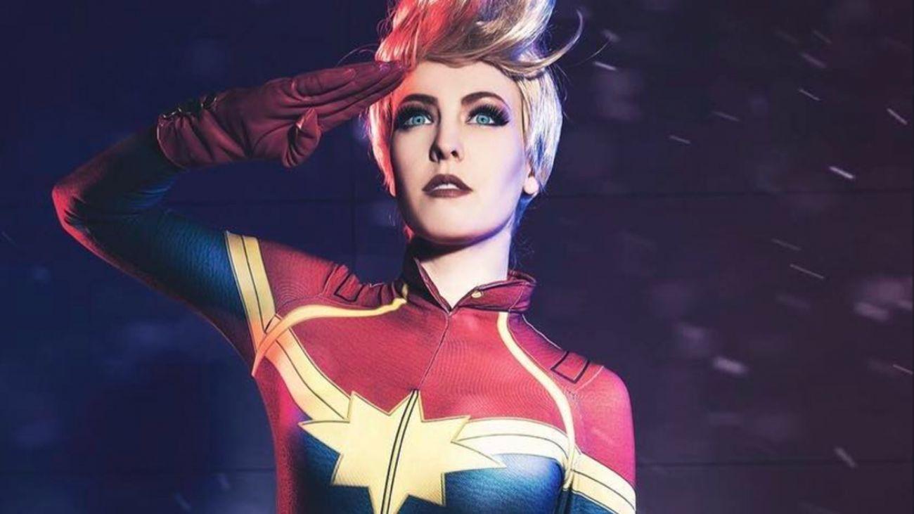 capitã marvel cosplay