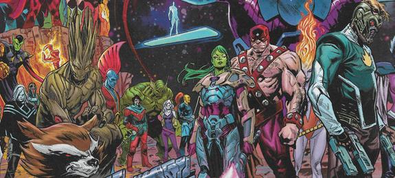 Guardiões da Galáxia marvel comics