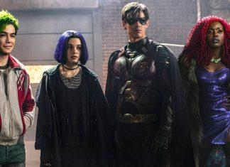 titans série dc universe netflix