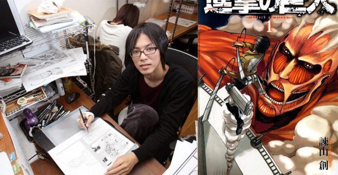 Hajime Isayama, criador deShingeki No Kyojin