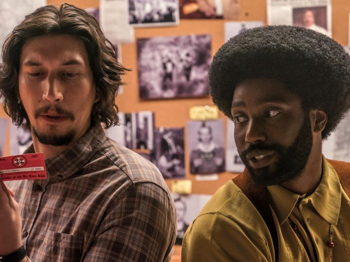 infiltrado na klan john david washington e adam driver spike lee