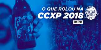 cosmobeer na capa do pulsar podcast ccxp 2018