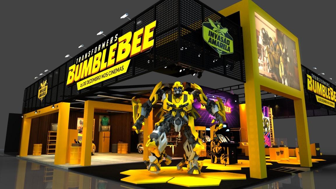 bumblebee paramount pictures ccxp 2018