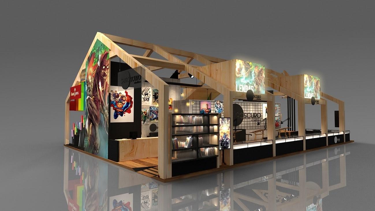 chiaroscuro studios faber-castell ccxp 2018