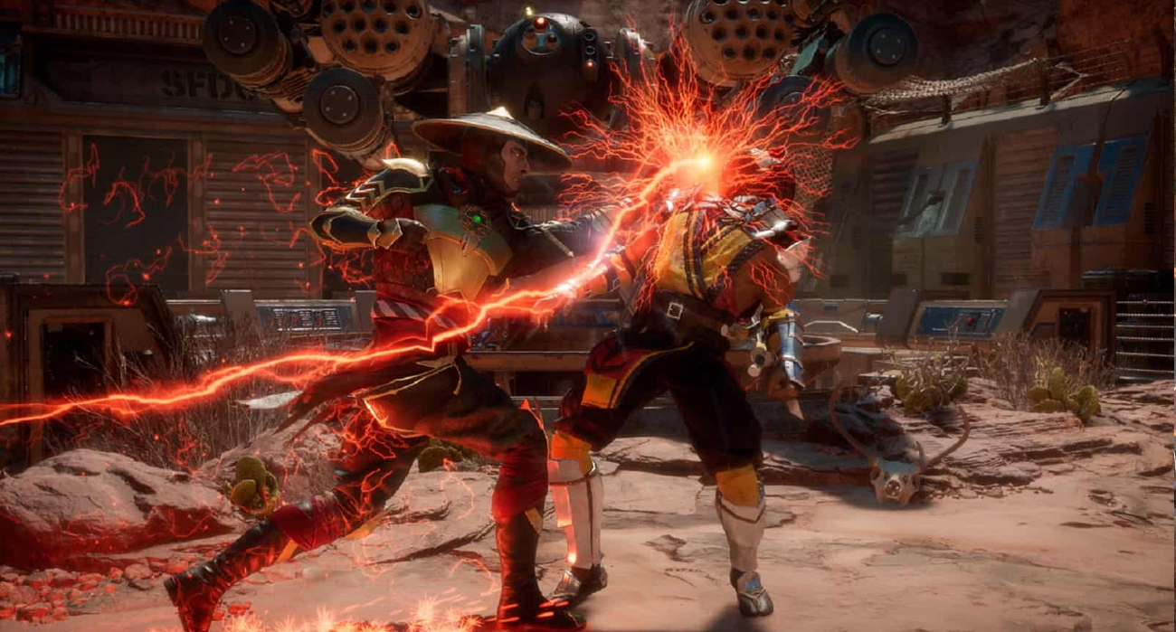 Video Game Awards mortal kombat 11