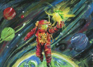 ilustração lucas rebelo para a cosmobeer