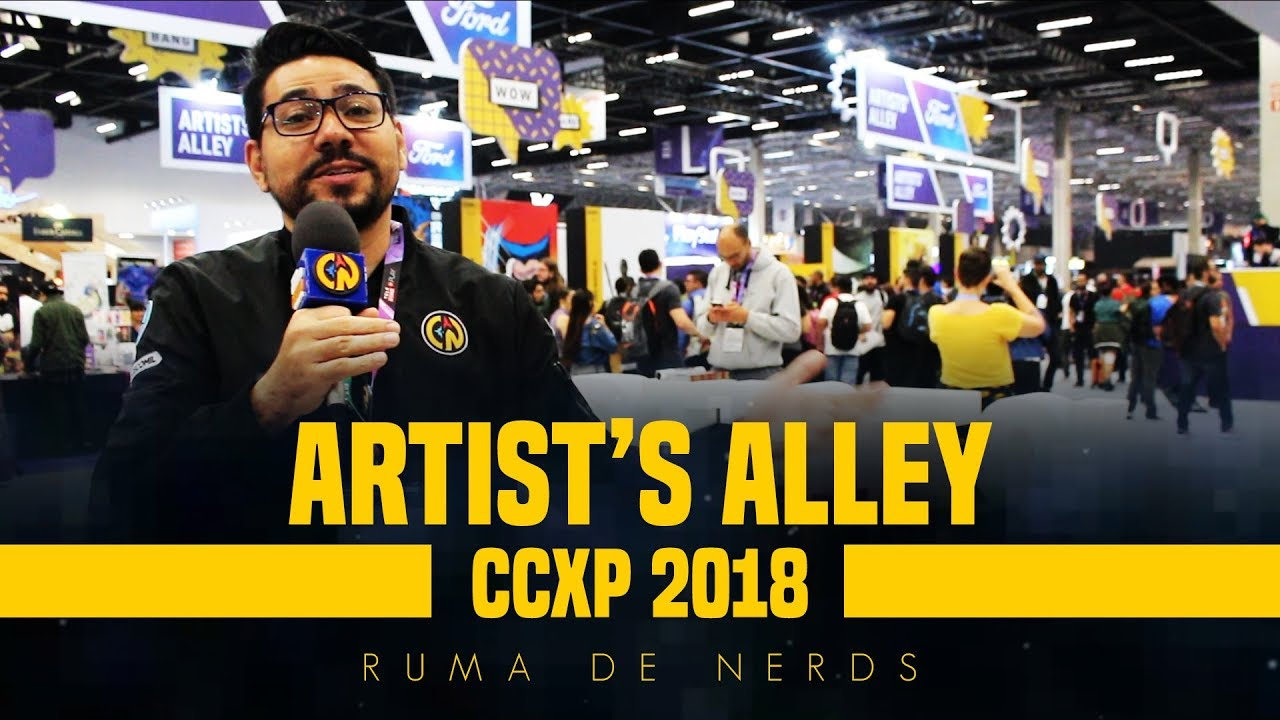 ccxp 2018 ruma de nerds artists alley