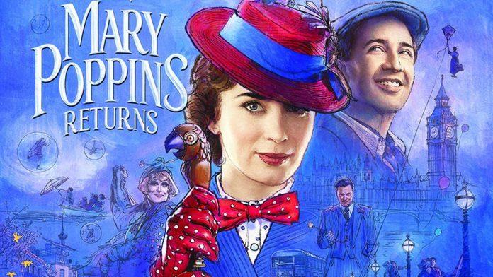 o retorno de mary poppins disney