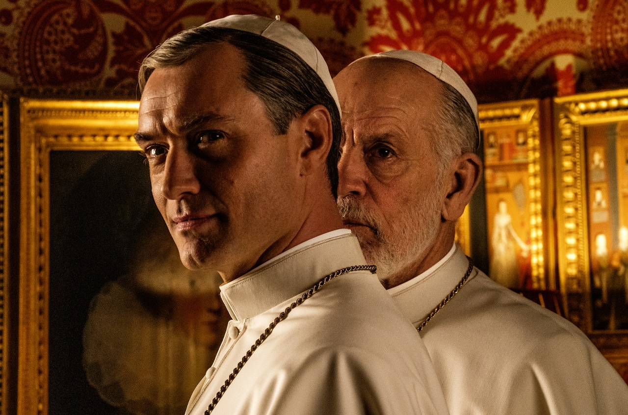 the new pope fox premium jude law john malkovich