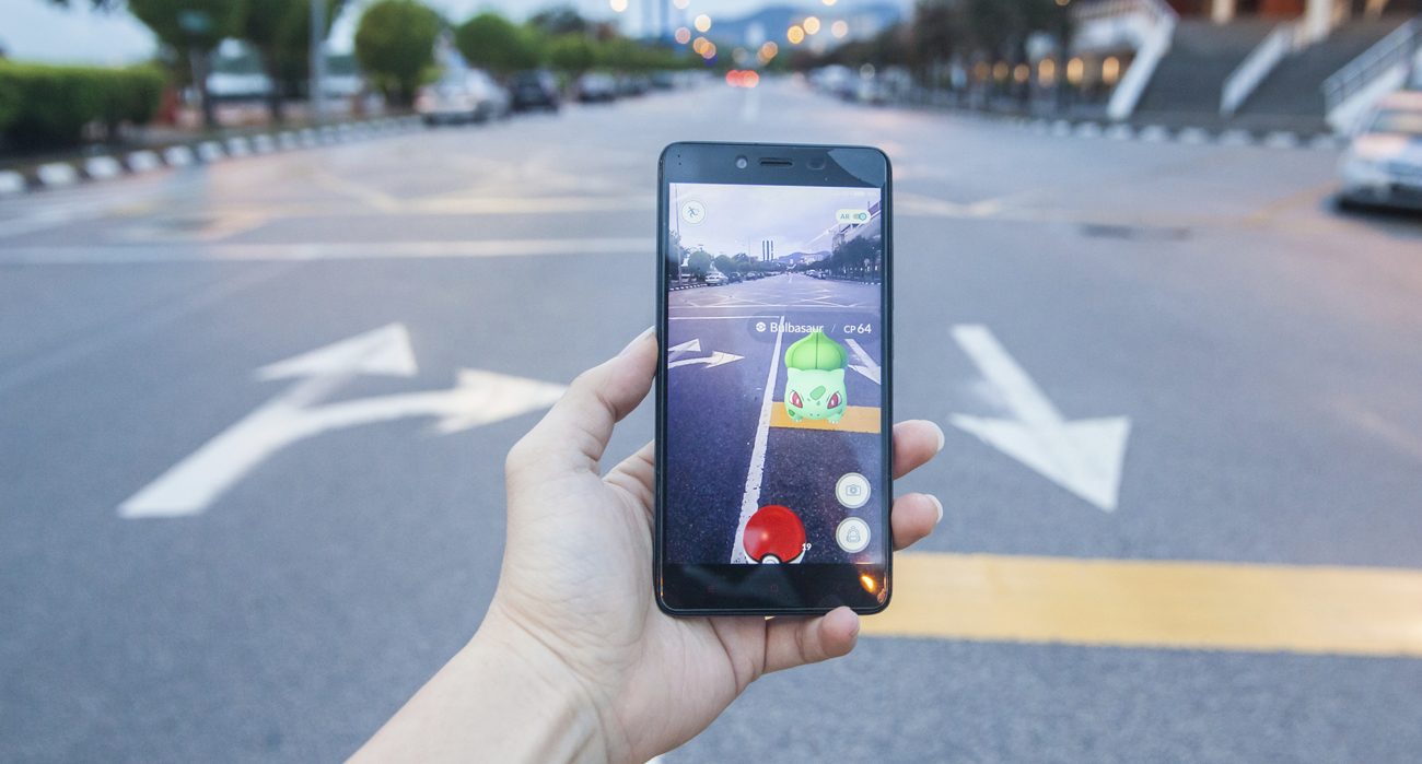 Pokémon Go na rua