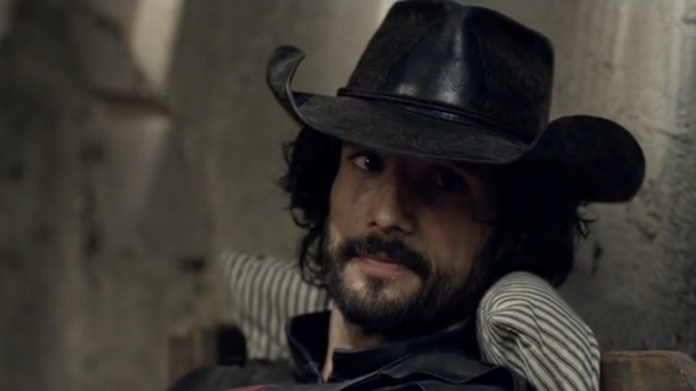 Rodrigo Santoro em cena da série HBO Westworld